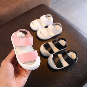2018 Summer Infant Sandals Baby Girls Boys Toddler Sandals Soft Bottom Genuine Leather Kids Casual Child Casual Shoes
