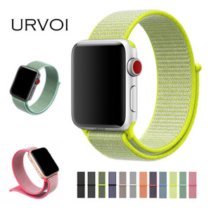 URVOI Spring 2018 Sport loop  series 3 2 1 band  double-layer woven nylon breathabe strap hook fastener