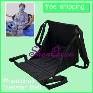 4 Handle transfer belt,safe patient and resident transfers,transportation assistant with adjustable closures for elderly, handicapped on Sale