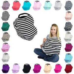Wholesale Baby INS Stroller Cover Sleep Pushchair Case Car Seat Canopy Shopping Cart Cover Pram Travel Bag Buggy Cover Breastfeed Nursing Covers K0043