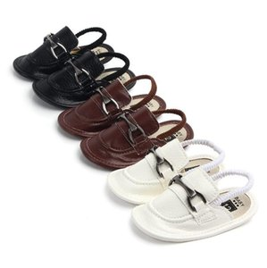 Wholesale Summer PU Male Baby Sandals Newborn Casual Soft Shoes Fashion Comfortable Children baby sandals