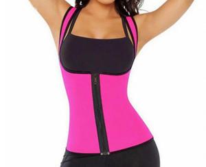 Sweat Thermo Hot Neoprene Body Shaper Slimming Waist Trainer Cincher Vest Women Shapers Free Shipping