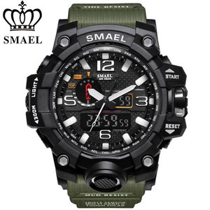 Wholesale New SMAEL Watch Men G Style Wateproof S Shock Sport Mens Watches Top Brand Luxury LED Digital-watch Military Army Wristwatches Y1892508