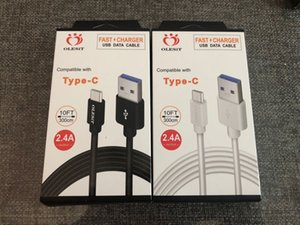 Wholesale Olesit M FT M FT A fast charger Micro USB Cable Data type c cable for samsung huawei baseus with retail box