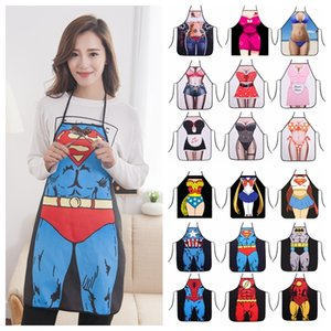 3D Funny Cooking Kitchen Apron Sexy Dinner Party Baking Delantal For BBQ Party Children Catton Accessories DDA660