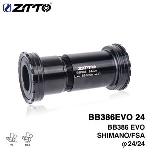 ZTTO BB386 EVO 24 Adapter bicycle Press Fit Bottom Brackets Axle for MTB Road bike parts 24mm Crankset chainset on Sale