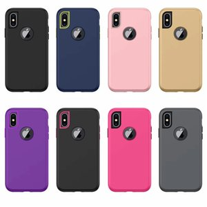Wholesale 3 in Hybrid Waterproof Case For iPhoneX INCH Shockproof Cellphone Case Defender Fashion Cover