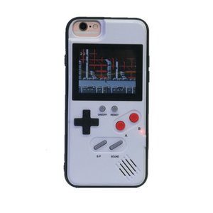 Wholesale Original silicone TPU phone case mini handheld game player Retro game console For iphone11 pro max plus XR XS Max protective cover