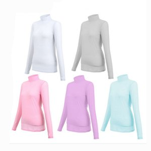 Wholesale CRESTGOLF Golf Shirt Women Outdoor UV Protect Sunscreen Shirt Ice T shirts Sport Long Sleeve Clothing Clothes