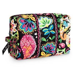 Wholesale NWT Miky flower cartoon large Cosmetic Cases makeup bag