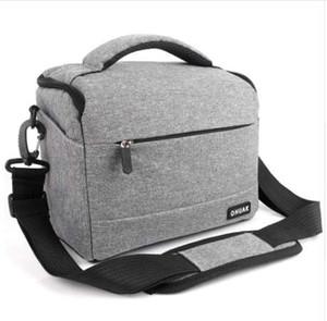 DSLR Camera Bag Fashion Polyester Shoulder Bag Camera Case For Canon Nikon Sony Lens Pouch Bag Waterproof Photography Photo