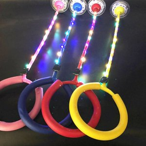 Wholesale Bouncing Ball Flashing Skipping Ropes Sports Swing Balls Children Adults Outdoor sport toys Leg Anklet Rotating Ring