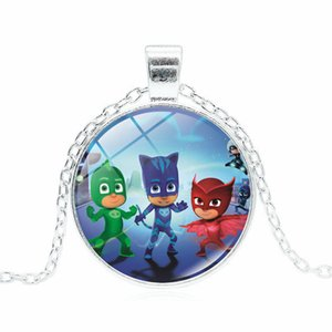 Wholesale PJ masks Time Necklace Sweater Chain
