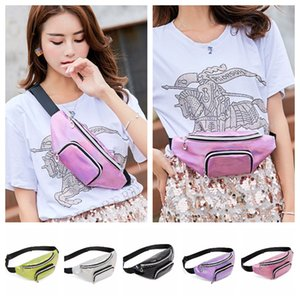 Unisex Fanny Pack Waistpacks Shoulder Bags Travel Purses Pocket Phone Chest Bags Ladies Waist Bags 5 Colors on Sale