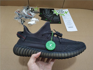 Wholesale with stockx tags and sboes box SPLY Sneaker V2 New Kanye West V2 SPLY Running Shoes Grey Orange Stripes Zebra Bred shoes D