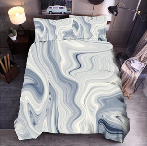 Wholesale queen comfort set for sale - Group buy Colorful Marble Printed Bedding Sets Comfort Quilt Cover Pics Duvet Cover High Quality Bedding Suits Bedding Supplies Home Textiles