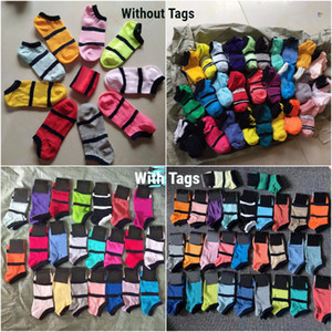 New Style With Tags Adult Socks Unisex Short Sock Cheerleader Sports Socks Teenagers Ankle Sock Multicolors