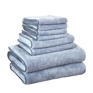 Wholesale Mukues Bath Towel Suit Functional Soft Absorbent Microfiber Beach Bath Towel Travel Quick Dry Color Availabled