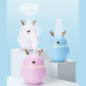 White Blue Pink 220ML Ultrasonic Air Humidifier Aroma Essential Oil Diffuser for Home Car USB Fogger Mist Maker
