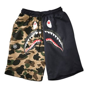 Wholesale Funny Cartoon Sweatpants Men Camouflage Outdoor Camo Printed Mens Hip Hop Shorts Beach Man Clothes Men Summer Leopard XD038