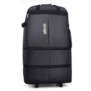 Wholesale 32 quot quot Inch Large Capacity Air Carrier Travel Suitcase Spinner Portable Nylon Bag Folding Carry On Luggage Aircraft Travel Bag