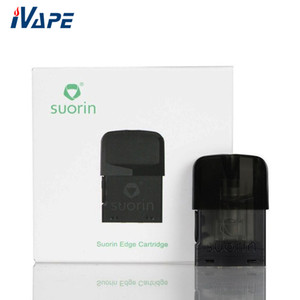ingrosso bordo suorin-Cartuccia Pod originale SUORIN EDGE capsula di ricambio da ml per kit bordo Suorin Built in ohm Design a prova di perdite di bobina