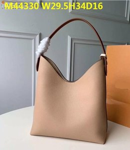 Wholesale top quality real leather fashion women Genuine Leather cowhide LOCKME HOBO handbags totes shoulder bags bag purse M52776 M44330 DHL