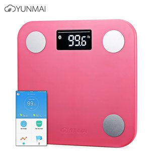 Wholesale YUNMAI Mini Smart Fat Scales Bluetooth APP Control BMI Data Analysis Weighing Tool