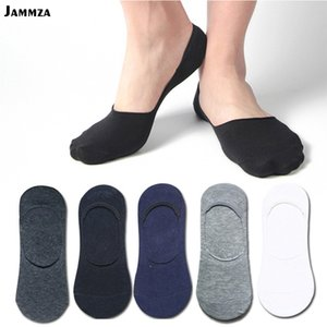 Wholesale Mens Summer New Cotton Invisible Socks Cheapest High Quality Black Low Cut Ankle Loafer White no show business Sporty Solid sock