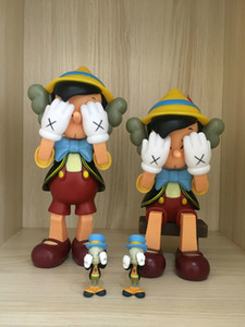 kaws Action Figures Most popular Creative design doll KAWS Dissected companion Decoration toy gift PVC material with Color box Original Fake