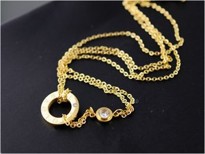2019 new fashion luxury ring Pendant Necklaces suit crystal Decorate Display Frame Stand Show For Women Wholesale