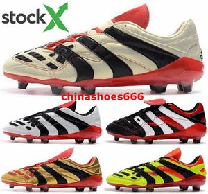Accelerator Shoes football boots soccer cleats Mens eur 46 Predator FG AG Youth boys Electricity size us 12 Men New Arrival 2020 Vintage