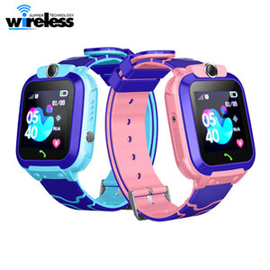 Wholesale russian gifts for children resale online - Q12 Smart Watch Bracelet Multifunction Children Digital Wristwatch Baby Watch Phone For Android Kids Toy Gift