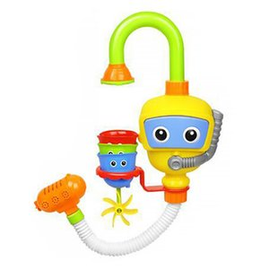 Wholesale Environmentally Pump Gift Cute Kids Durable ABS Baby Bathtub Play Funny Set Diver Station Baby Bath Toy No Batteries Needed