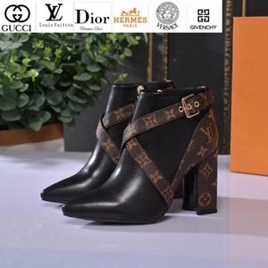 Vvtisks6 Women's Leather High Heel Sandals Short Boots Riding Rain Boot Boots Booties Sneakers Dress Shoes on Sale