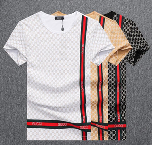 New 2020 T-shirt Fashion Badge Men T Shirts For V Neck Cotton Short Sleeve Top Tees Tshirts Brands WQS2