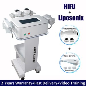 Wholesale 10 Shots Liposonix Body Slimming Machine HIFU Face Lifting Wrinkle Removal IN HIFU Liposonix Fat Removal Weight Loss