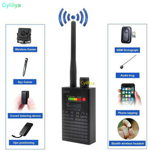 Wholesale G318 handheld detector Wireless RF signal detector CDMA signal Detector high sensitivity detect Camera lens  GPS locator Device Finder