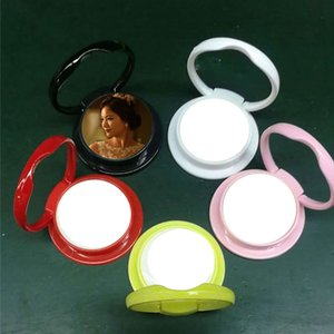 Wholesale new sublimation universal mobile phone mount holder ring buckle hot transfer printing blank consumable materials five colours