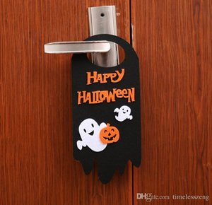 décorations de porte d'halloween achat en gros de-news_sitemap_homeHappy Halloween Décorations citrouille lanterne Cartoon Chat Noir Fantôme Crâne orange Hanging crochet porte Hanger ornements pour les pubs Party cosplay
