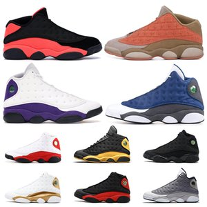 Wholesale Top Quality s Basketball Shoes Clot Sepia Stone Lakers Flint Cap and Gown Atmosphere Grey Chicago Retro Mens Trainers Sport Sneakers