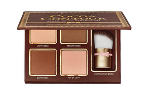HOT Sale makeup Cocoa Contour Chiseled to Perfection Face Contouring& Highlighters Kit! Bronzers & Highlighters ! ePacket Free shipping!
