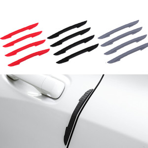 Wholesale door guard protector for sale - Group buy 4Pcs Car Sticker Car Door Guard Edge Protector Buffer Scratch Crash Bar Strip Auto Bumper Corner Trim Molding Guards