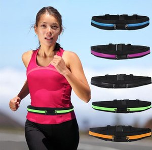 Wholesale Waist bag Casual Waist Pack Sport bag Waterproof Running Bags Single Double Bags Purse Mobile Phone Case for SAMSUNG IPHONE pocket