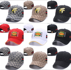 Wholesale New Fashion Baseball Cap Spring summer Fall Style Ball Mesh Cap Popular Tiger Bee Sport snapback Hat for Golf High Quality Dad Hat casquette