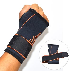Wholesale Outdoors Carpal Strain Tennis Wrist Guard Badminton Sports Support Adjustable Band Sports Safety Wrist Support