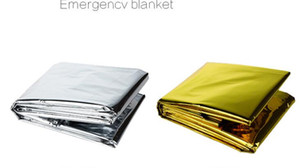 Wholesale Outdoor Water Proof Emergency Survival Rescue Blanket Foil Thermal Space First Aid Sliver Rescue Curtain Military Blanket A