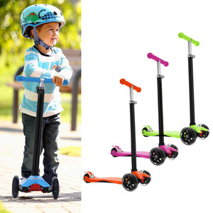 Fashion New Aluminum Alloy Kick Scooter T Style Handle Bar Best Gifts for Children Kids Boys Girls Fashion New Sports & Entertainment