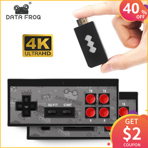 Wholesale DATA FROG K HDMI Video Game Console in Mini Retro Console Wireless Controller HDMI Output Dual Players