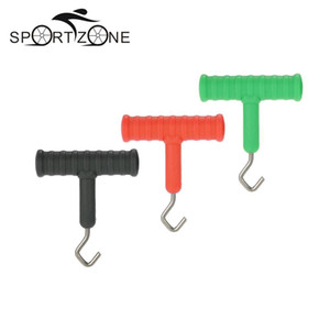 Wholesale 3pcs Knot Pulla Tool Knot Hook Puller for Carp Fishing Rig Terminal Tackle Making Tool Accessories